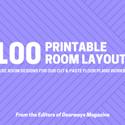 100 Room Layouts Cover