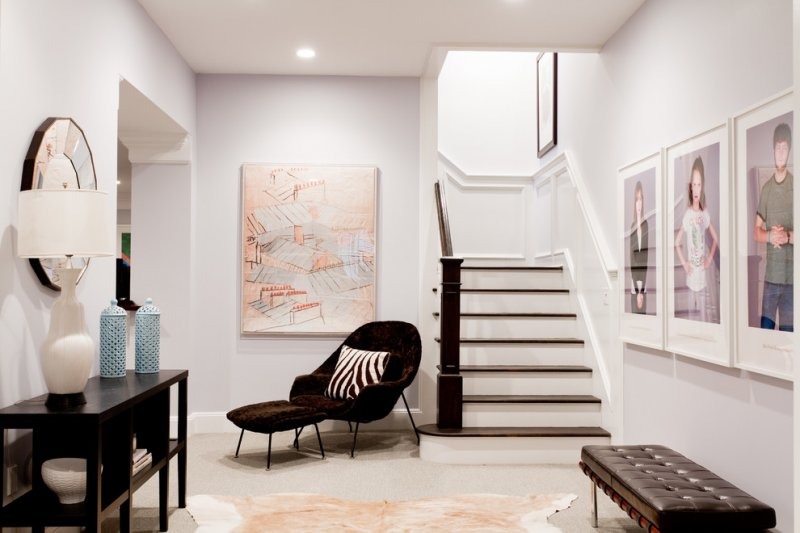 Foyer With Stairs To Basement : Ways to give your basement stairs a makeover