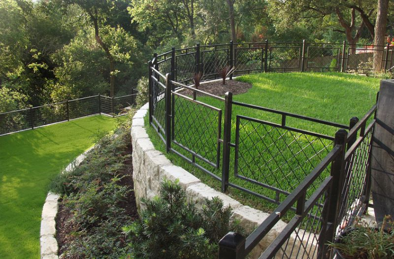 10 fence ideas and designs for your backyard photo via pearson landscape services workwithnaturefo