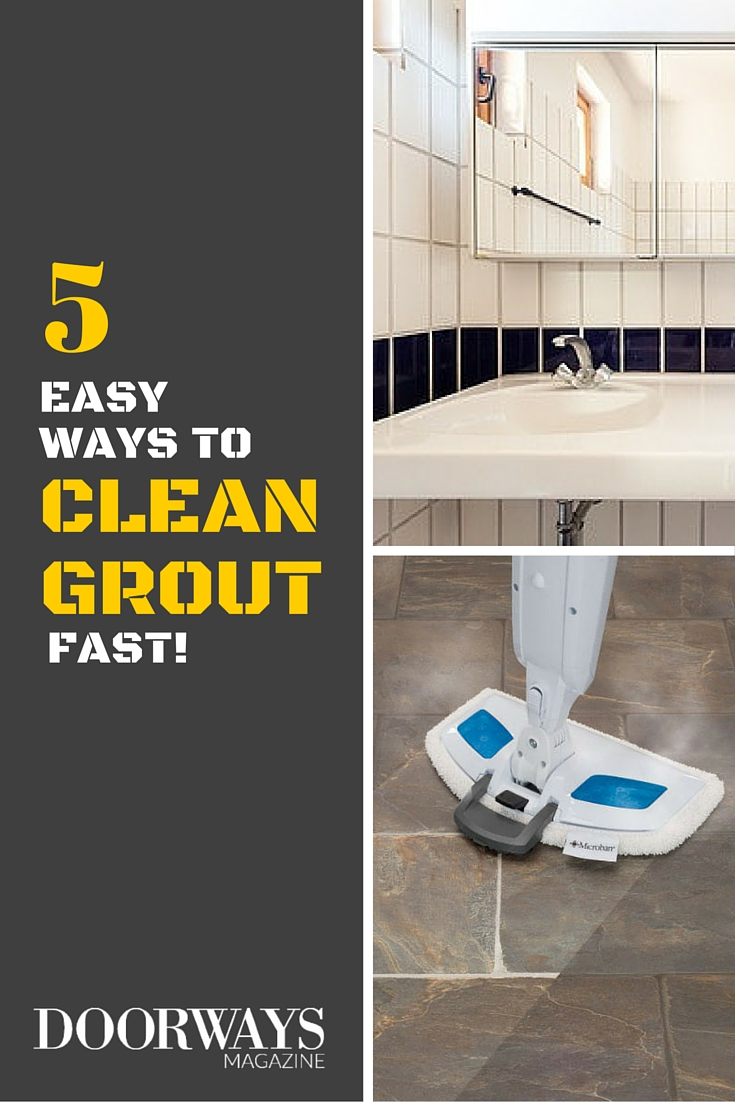 How to clean grout top 5 grout cleaning tips dailygadgetfo Image collections