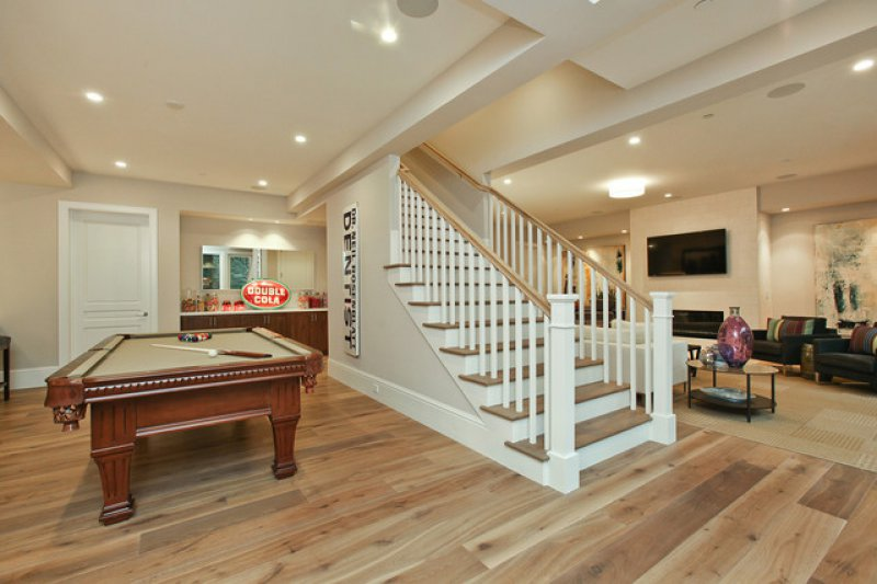 11 ways to give your basement stairs a makeover for Farmhouse basement