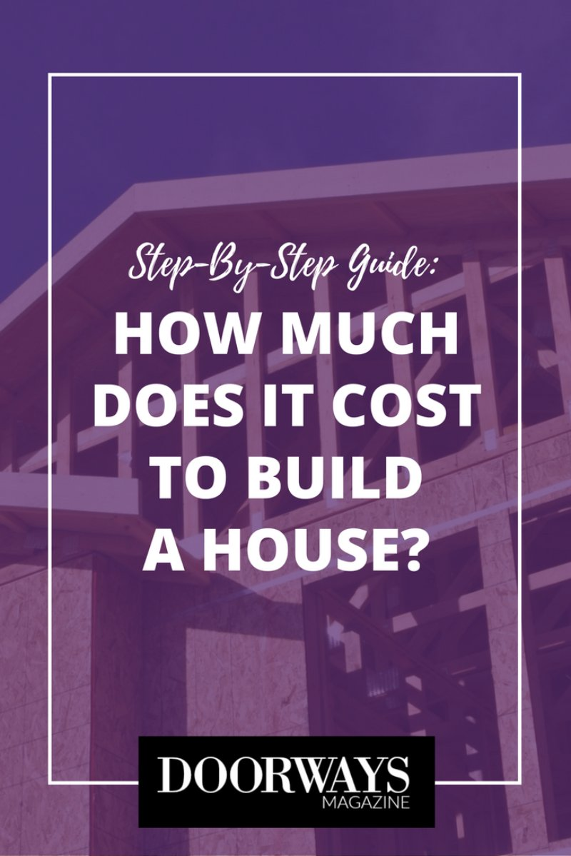 How much does it cost to build a house doorways magazine for Average cost to build an a frame house