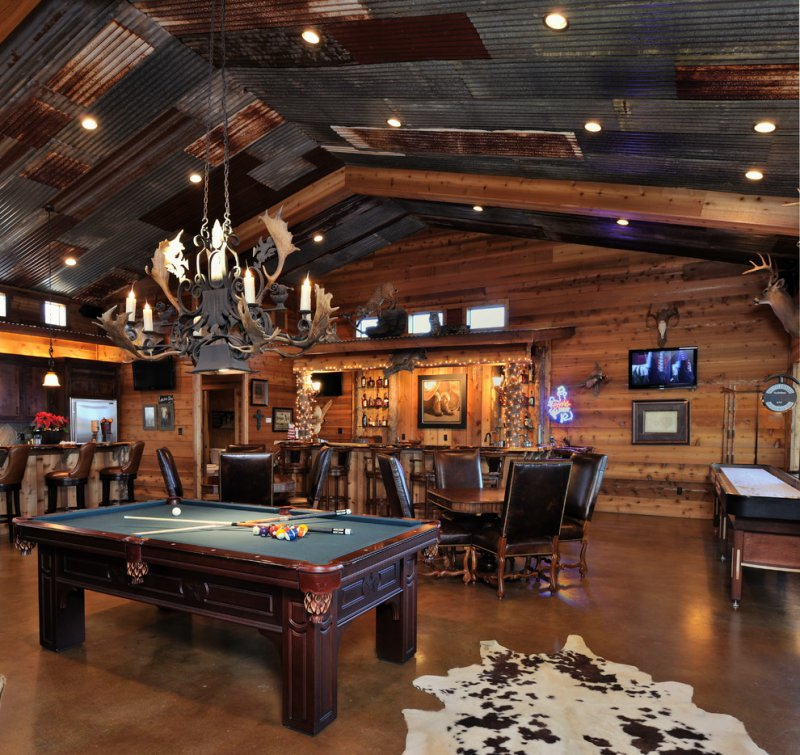 17 Manly Home Decorating Tips For Guys Who Are Clueless: 17 Epic Man Cave Design Ideas For Sports Fans, Outdoorsmen
