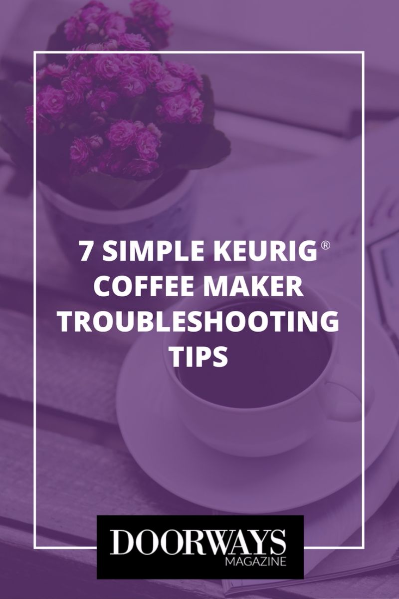 troubleshoot keurig machine