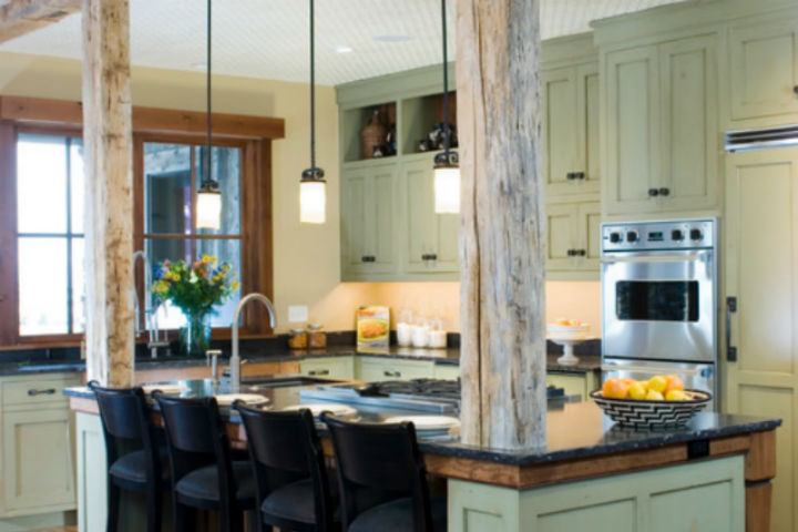Light Green Kitchen Cabinets