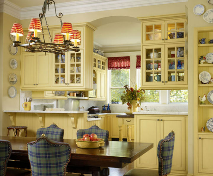 5 popular kitchen cabinet colors and paint ideas Kitchen design yellow and white