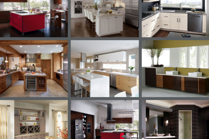 kitchen craft cabinet styles