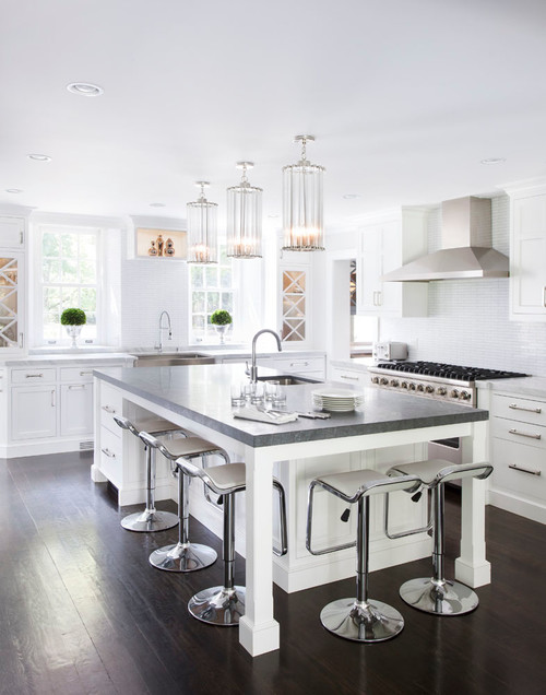 Chrome Kitchen Island Lighting