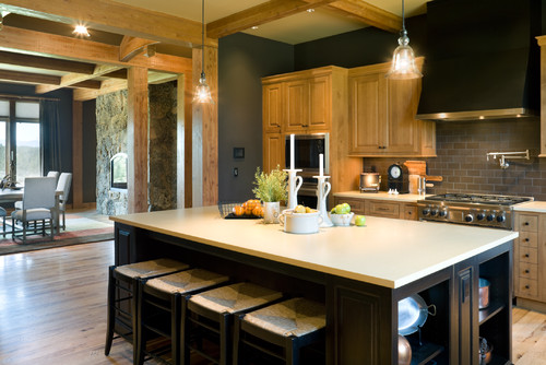 the best kitchen paint colors with oak cabinets - doorways magazine