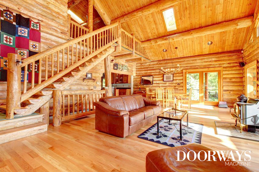 log cabins to build for living in
