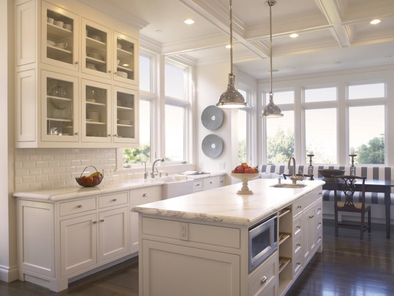white kitchen cabinets cons pros and cons of marble vs granite countertops 28720
