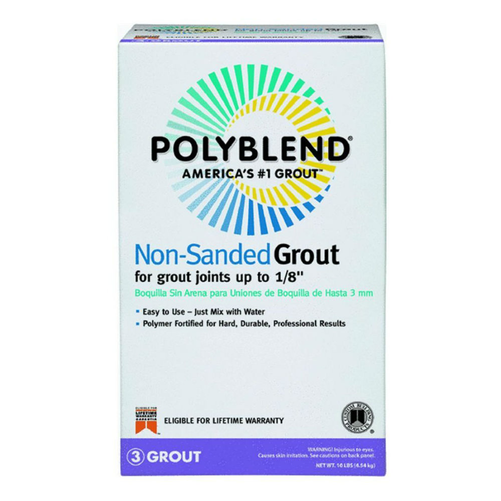 polyblend unsanded grout