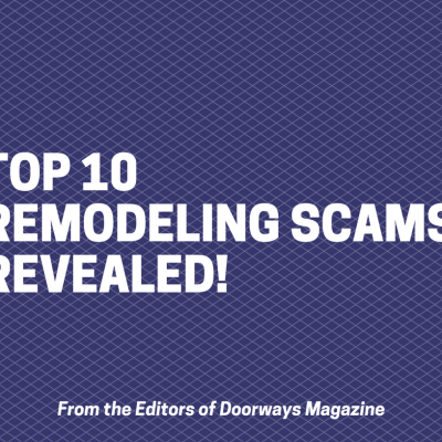 Remodeling Scams Report Cover