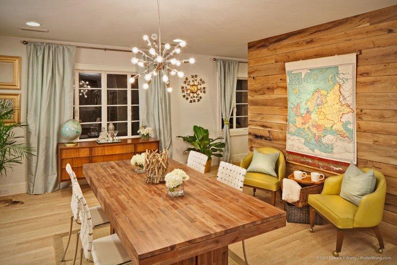 rustic dining room sputnik_chandelier