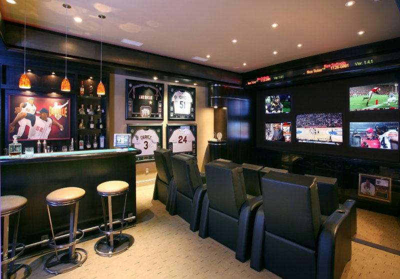 Design Ideas For Home home decor design interior home design ideas 006 Man Cave Ideas