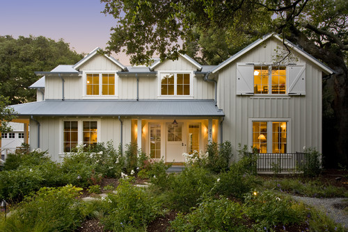 Step 1 Evaluate Surrounding Elements Traditional Exterior House Colors