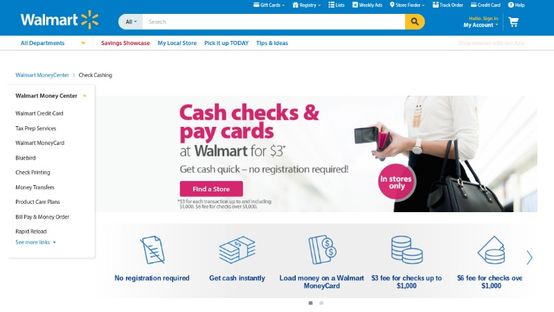 Does Walmart Cash Personal Checks?