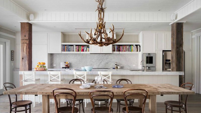 17 antler chandeliers that look great in every room white kitchen aloadofball Images
